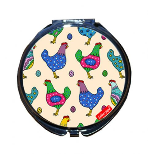 Selina-Jayne Chickens Limited Edition Designer Compact Mirror